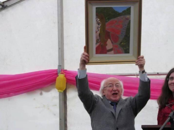 President Micahel D Higgins Visits Ardagh Co. Longford