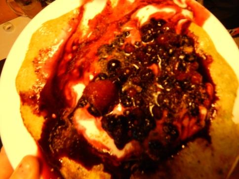 healthy living gluten free pancake